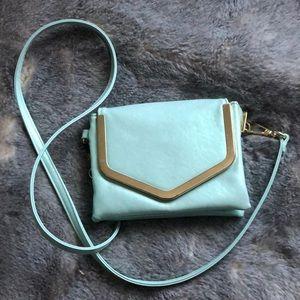 Handbags - 🦋Iridescent aqua color crossbody